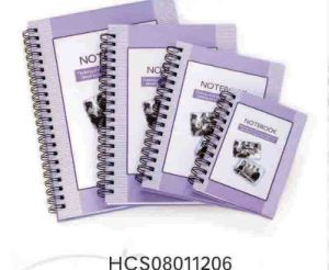 Hard Cover Spiral Notebook 2
