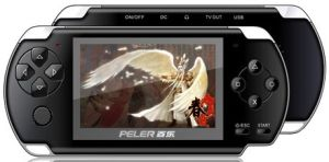 4.3 Inch MP5 Game Player With AV Out, 1280*720p