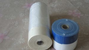 Plastic Pretaped Masking Film for Painting