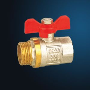 Brass Ball Valve (MF11004) pictures & photos