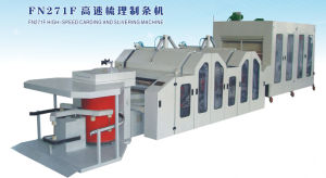 High-Speed Wool Carding and Slivering Machine pictures & photos