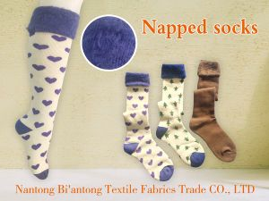 Napped Socks pictures & photos