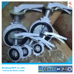 KITZ Alloy Aluminum Wafer Butterfly Valve with Handle JIS Standard SS316DISC and Stem BCT-ALU-BFV316 pictures & photos