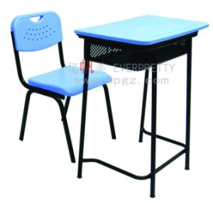 2015 Modern School Furniture Student Single Desk with Chair (SF-36F) pictures & photos