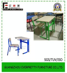 Schoolo Furniture Classroom Single Student Desk and Chair Set pictures & photos