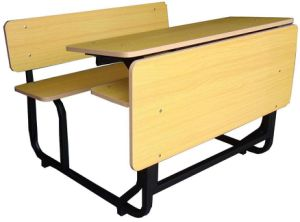 School Furniture for Children′s Education, Double School Desk School Furniture pictures & photos