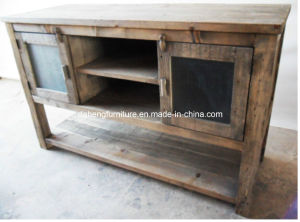 Antique Side Table Cabinet (AWC004)