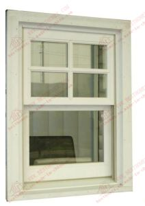 American Standard Single Hung Sliding Vinyl Window (BHP-LW01) pictures & photos