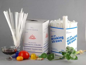 Individual Paper Wrapped Drinking Straw pictures & photos