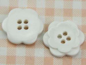 Best Quality Eco-Friendly 2 Holes Resin Button pictures & photos