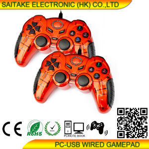 PC Double Vibration Gamepad Stk-9024 pictures & photos