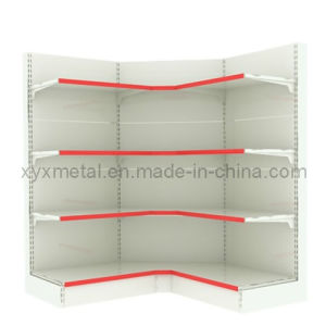 Display Wall Side Corner Supermarket Shelves pictures & photos
