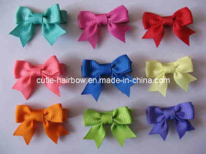 Basic Bow , Hair Accessory, Hair Ornament, Hair Clippie (HS-076)
