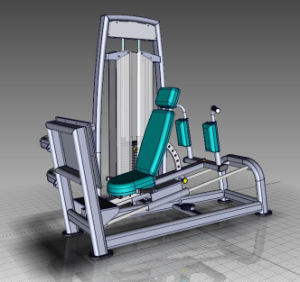 Sports Machine/ Seated Leg Press (SS09) pictures & photos