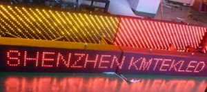 Single Color LED Sign Board