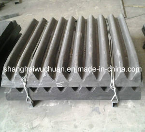 High Manganese Jaw Plate for PE Jaw Crusher pictures & photos