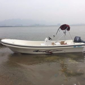4-8m Fiberglass Panga Fishing Boat with Hardtop Option pictures & photos