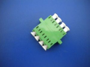 Fiber Optic Adapter- LC/APC- 4 Cores