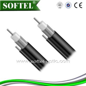 Qr540 Series CATV Trunk Coaxial Cable with Optional Messenger and Jacket pictures & photos