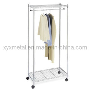 Chrome Garment Rack Wire Shelving pictures & photos