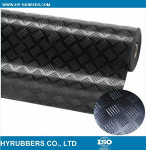 Anti-Slip Fine Ribbed Rubber Sheet pictures & photos