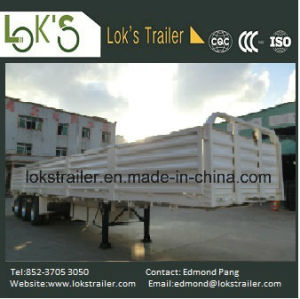40 Feet 3 Axles 5-Compartment Walled Semi Trailer pictures & photos