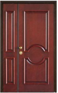 Security Wooden Fire Door