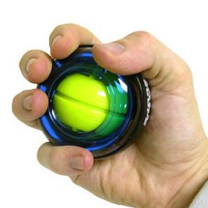 Power Gyroscope LED Wrist Exercise Strengthener Ball (1928)