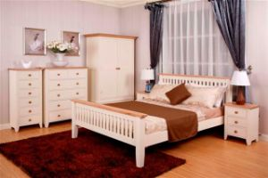 White Painted Bedroom Furniture UK Camden Range Pine Wood Furniture