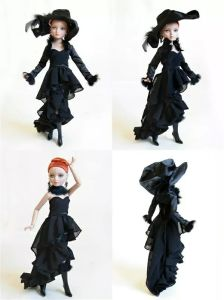 Customized 11.5 Inch Plastic Girl Doll Dress Doll Accessories pictures & photos