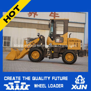 China Best Price Mini Wheel Loader Front Mini Loader with Ce Certificate Zl10 pictures & photos