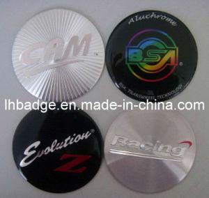 3D Aluminum Adhesive Label (1008E)