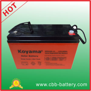 12V Battery Price 100ah Solar Battery for off-Grid System pictures & photos