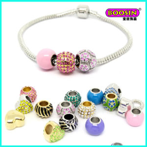 2016 New Developed Colorful Enamel Alloy Beads Snack Chain Bracelet pictures & photos
