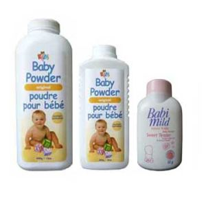 50g, 100g, 200g Baby Powder