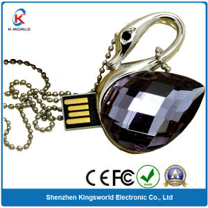 Jewelry Swan 8GB USB Flash Disk pictures & photos