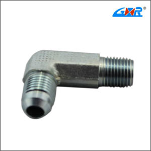 90 Degree JIS Gas Male 60 Degree Cone Bsp Male O-Ring Pipe Connector pictures & photos