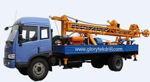 """Gl-II Truck Mounted Drilling Rig """"Well Drilling Rig"""" pictures & photos"""