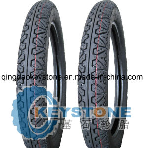 Motorcycle Tire 3.00-17 with Bajaj Pattern pictures & photos