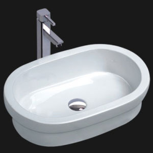 Bathroom Ceramic Vessel Sink (6085) pictures & photos