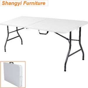 72inch Plastic Folding Table Rectangle pictures & photos