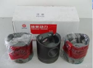 Piston for Weichai Wd615 Engine Parts