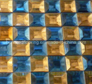 Diamond Glass Mirror Mosaic Tile (HD046) pictures & photos