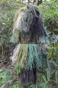 2016 Breathable Durable Woodland Camo Ghillie Suit for Hunting pictures & photos
