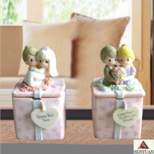 Resin Wedding Jewelry Box (SR5298)