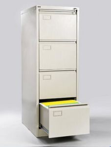 4 Drawer Metal Vertical File Cabinet for Office pictures & photos
