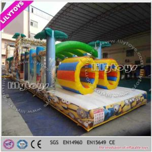 Lilytoys PVC Material Inflatable Obstacle Course, Outdoor Sport Game pictures & photos