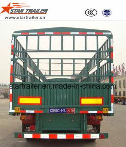 3 Axles Gooseneck Fence Cargo Trailer pictures & photos