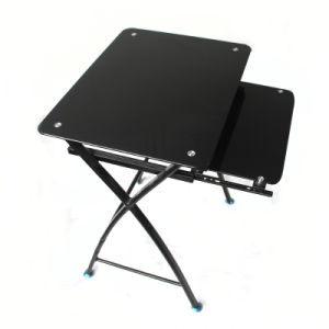 Economic Tempered Glass Learning Table pictures & photos
