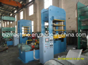 hot plate vulcanizing press pictures & photos
